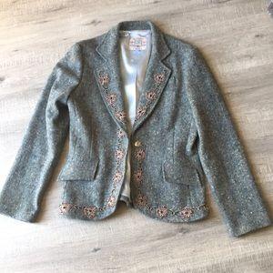 Brand new wool blazer